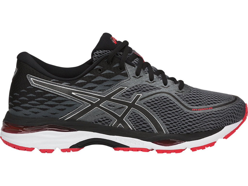 GEL-CUMULUS 19 | Men | BLACK/CARBON/FIERY RED | Laufschuhe Herren ...