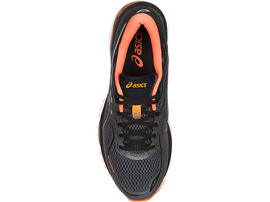 GEL-CUMULUS 19 BLACK/ORANGE