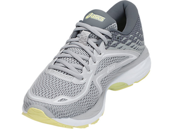 GEL-CUMULUS 19 GLACIER GREY/SILVER/LIME LIGHT
