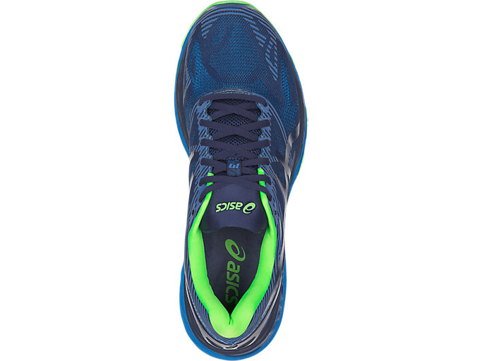 Top view of GEL-Nimbus 19 Lite-Show für Herren, INDIGO BLUE/DIRECTOIRE BLUE/REFLECTIVE