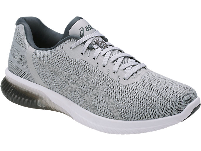 Front Right view of GEL-KENUN, MID GREY/MID GREY/CARBON