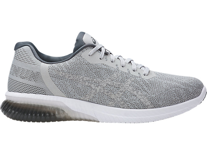 Right side view of GEL-KENUN, MID GREY/MID GREY/CARBON