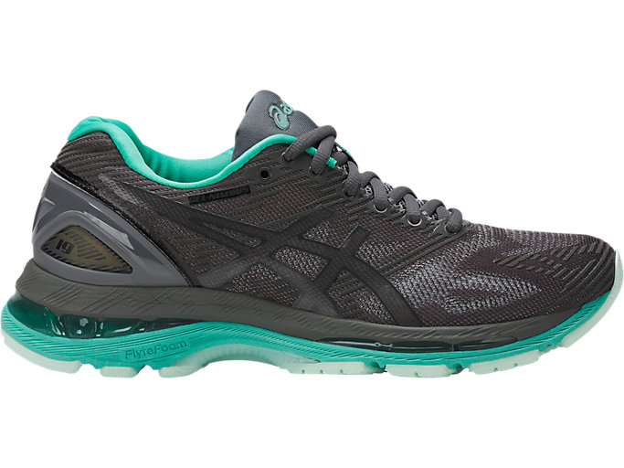 Right side view of GEL-NIMBUS 19 LITE-SHOW, Dark Grey/Black/Reflective