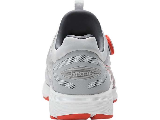 Back view of Dynamis, MID GREY/CARBON/WHITE