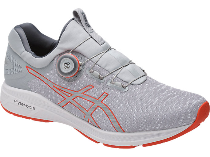 Front Left view of Dynamis, MID GREY/CARBON/WHITE