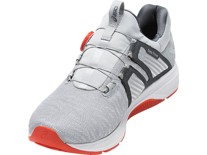 Front Right view of Dynamis, MID GREY/CARBON/WHITE