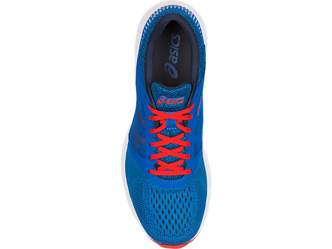 Top view of RoadHawk FF, Classic Blue/Cherry Tomato/Insignia Blue