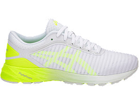 DynaFlyte 2, White/Safety Yellow/Aruba Blue