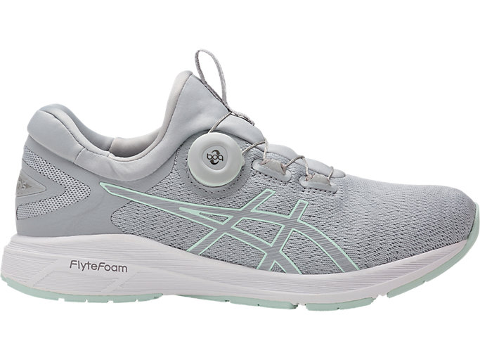 Right side view of Dynamis, MID GREY/GLACIER GREY/WHITE