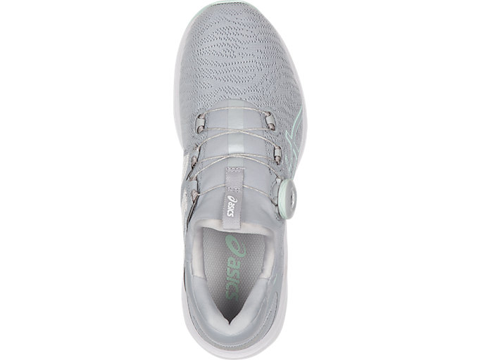 Top view of Dynamis, MID GREY/GLACIER GREY/WHITE