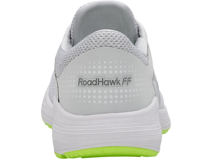 Back view of RoadHawk FF, GLACIER GREY/BLACK/SAFETY YELLOW