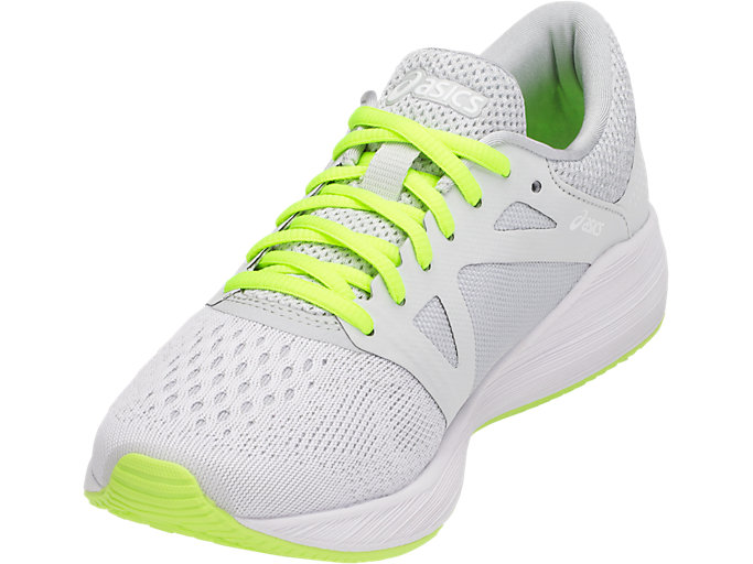 Front Left view of RoadHawk FF, Glacier Grey/Black/Safety Yellow