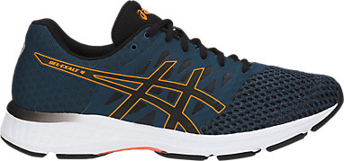 f658ab65360 GEL-Exalt 4 | MEN | Dark Blue/Black/Shocking Orang | ASICS US