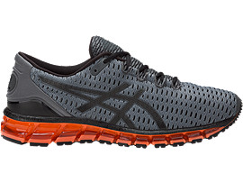 GEL-QUANTUM 360 SHIFT, Carbon/Black/Hot Orange