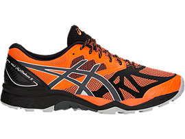 GEL-FujiTrabuco 6, SHOCKING ORANGE/DARK GREY