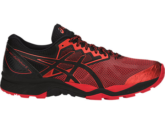 GEL-FujiTrabuco 6, BLACK/FIERY RED/BLACK