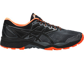 GEL-FujiTrabuco 6, Carbon/Black/Hot Orange