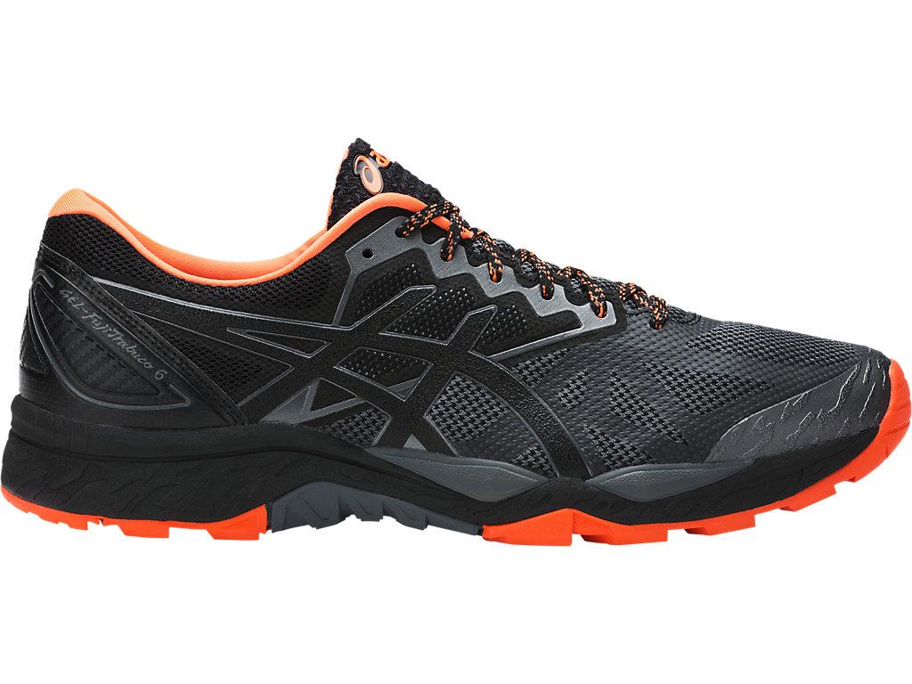Asics Chaussures Gel Fujitrabuco 6 Noir Orange Asics 8nMiRV