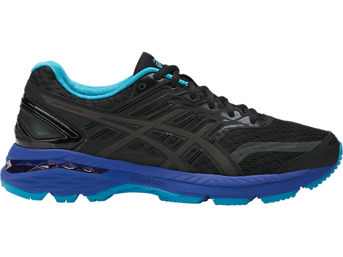 Right side view of GT-2000 5 LITE-SHOW, Black/Island Blue/Reflective