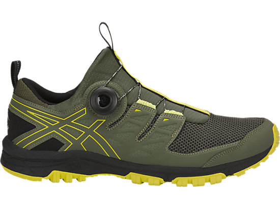 Sneakernews Online GEL-FUJIRADO - Trail running shoes - four leaf clover/sulphur sprin Nice DjIc6