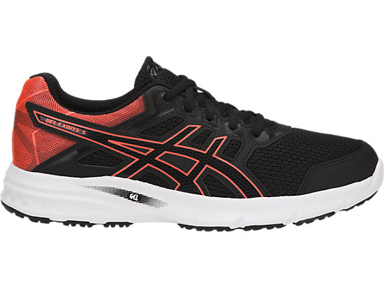 GEL-EXCITE 5 BLACK/FLASH CORAL/BLACK