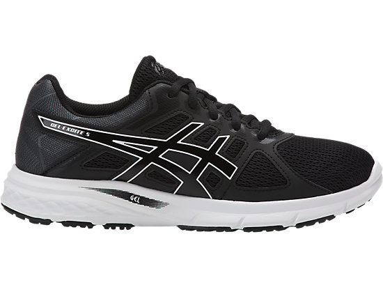 GEL-EXCITE 5 BLACK/BLACK/WHITE