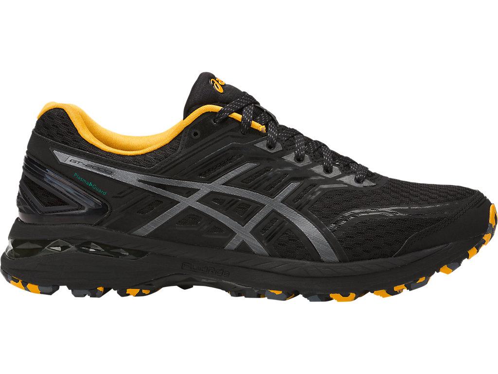 chaussure de running homme asics gel gt 2000 5 gris asics