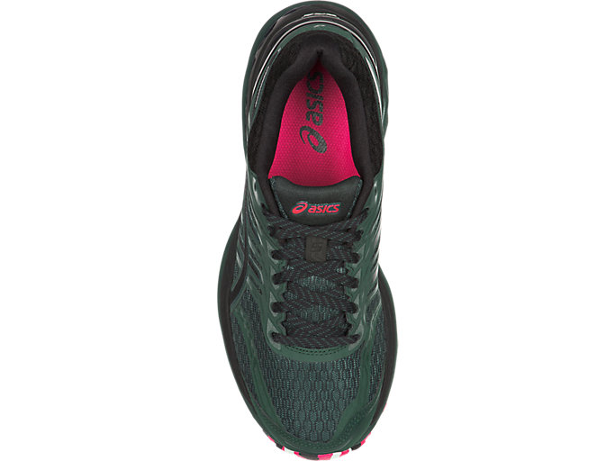Top view of GT-2000 5 TRAIL PLASMAGUARD, Hampton Green/Black/Cosmo Pink