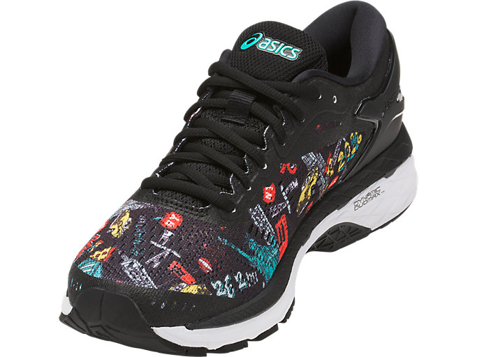 Front Left view of GEL-KAYANO 24 NYC, TWENTY/SIX/TWO