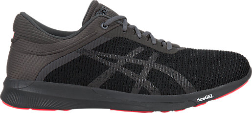cheapest price sale online buy cheap new styles Asics Fuzex Rush Grey Running Shoes discount classic discount sale discount best store to get MKTJ0V