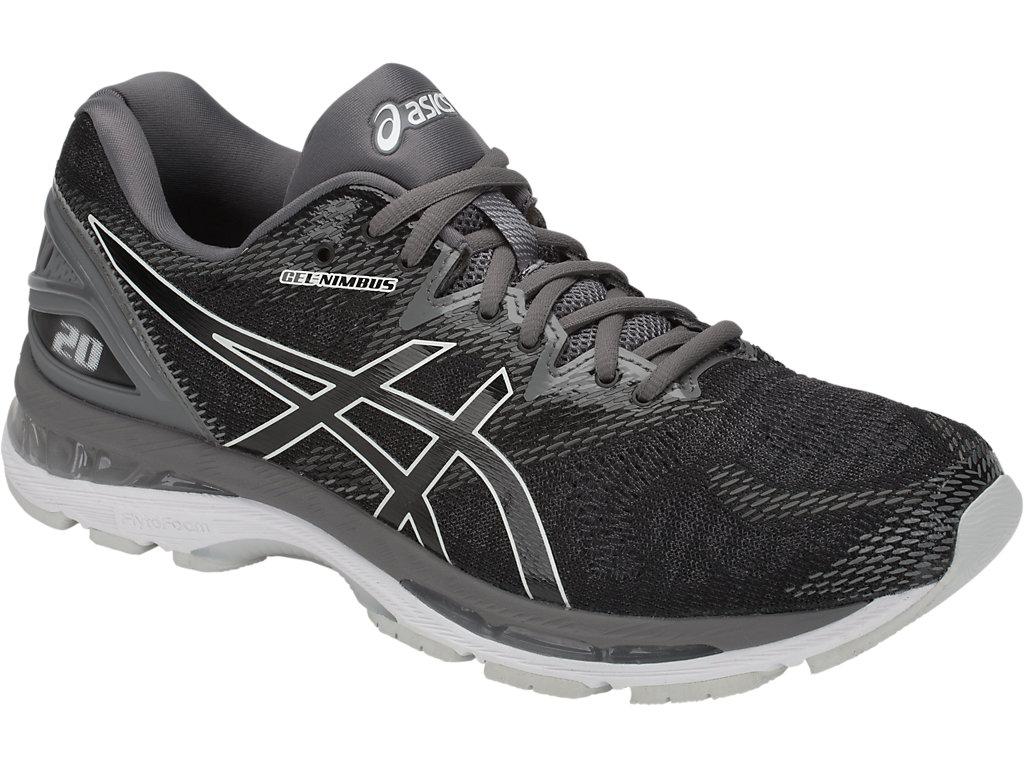 ASICS GEL NIMBUS 20 Men's Running Shoes, BlackCarbon at