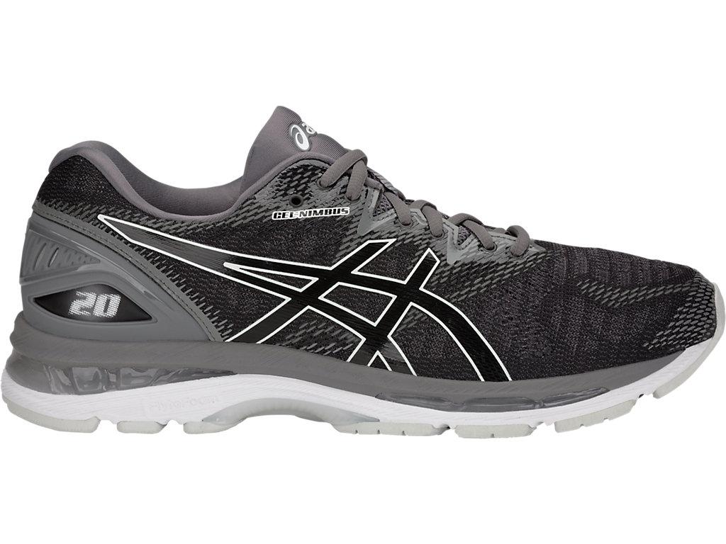Asics Mujer Gel-cumulus 20 Correr Zapatos Zapatillas Negro Deporte Running