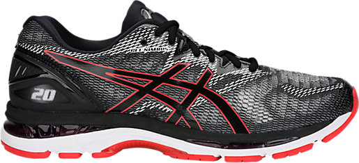 ForOffice   asics gel nimbus 20 mens running shoes black