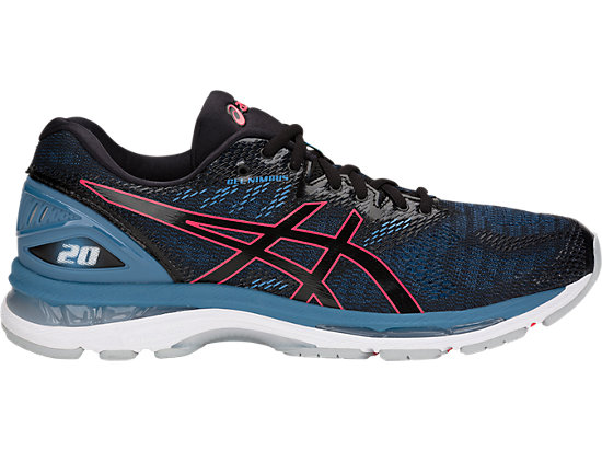 GEL-NIMBUS 20, BLACK/AZURE