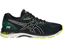 GEL-NIMBUS 20, BLACK/NEON LIME