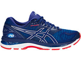 GEL-NIMBUS 20, BLUE PRINT/RACE BLUE
