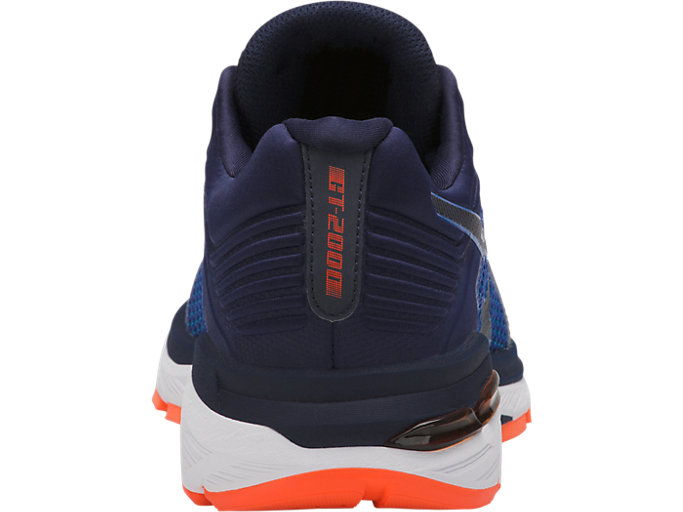 Back view of GT-2000 6, IMPERIAL/INDIGO BLUE/SHOCKING ORANGE