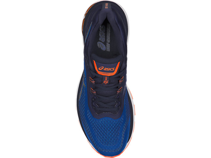 Top view of GT-2000 6, IMPERIAL/INDIGO BLUE/SHOCKING ORANGE