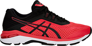 asics mens red
