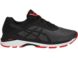 GT-2000 6, DARK GREY/BLACK/FIERY RED
