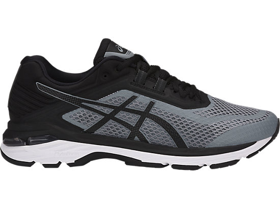Asics GT 2000 6 2E Wide Black Grey Men Running Shoes Sneakers T806N 1190