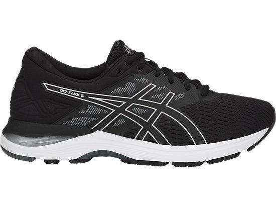 Asics Chaussures Gel-Flux 5 Pour Homme, 41.5 EU, Black/Silver/Carbon