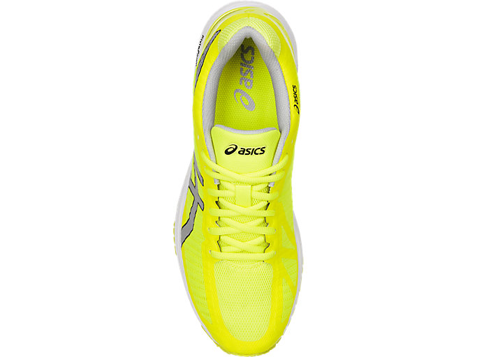 Top view of GEL-DS TRAINER 23, SAFETY YELLOW/MID GREY/WHITE