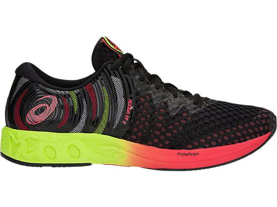 ASICS NOOSA FF 2 - Neutral running shoes - black/cayenne BWJzXxGxu