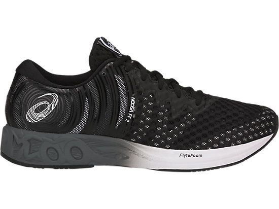 ASICS NOOSA FF 2 - Neutral running shoes - black/cayenne Z6lnP2IG