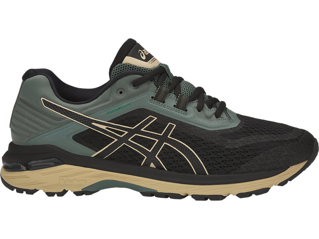 ASICS GT-2000 6 TRAIL PLASMAGUARD - Trail running shoes - peacoat/black UdqN2or