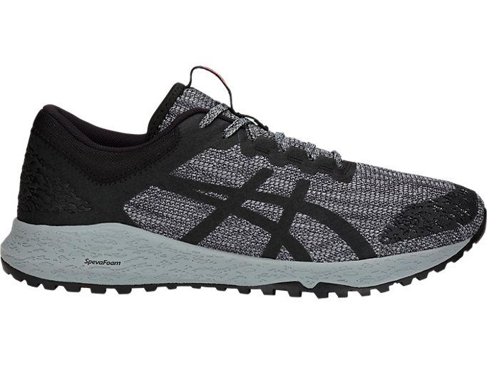 ASICS Alpine XT Mens Trail Running Shoes-Black