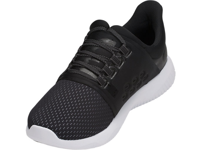 Front Left view of GEL-KENUN LYTE, BLACK/PHANTOM/DARK GREY