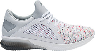 GEL-KENUN KNIT - Neutral running shoes - white/mid grey