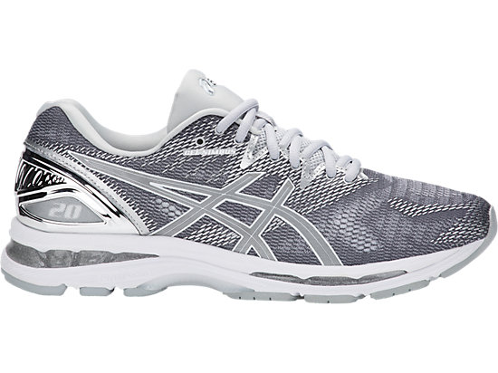 GEL-NIMBUS 20 PLATINUM, CARBON/SILVER/WHITE